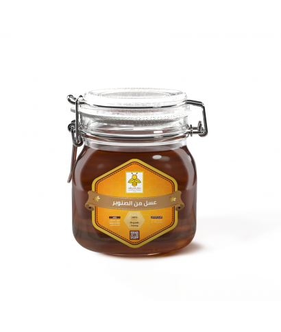 Honey from pine nuts